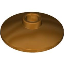 Metallic Gold Dish 2 x 2 Inverted (Radar) - new