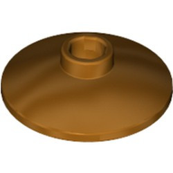 Metallic Gold Dish 2 x 2 Inverted (Radar)
