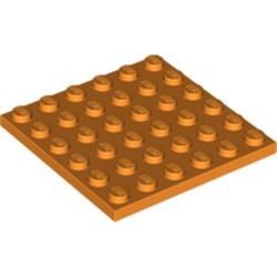 Orange Plate 6 x 6 - new