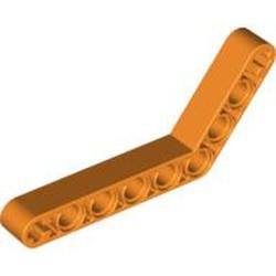 Orange Technic, Liftarm, Modified Bent Thick 1 x 9 (6 - 4) - used