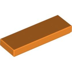 Orange Tile 1 x 3 - new