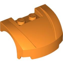 Orange Vehicle, Mudguard 3 x 4 x 1 2/3 Curved Front