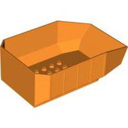 Orange Vehicle, Tipper Bed 12 x 8 x 3 1/3