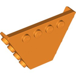 Orange Vehicle, Tipper End Flat without Pins