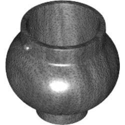Pearl Dark Gray Minifigure, Utensil Pot Small with Handle Holders