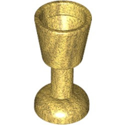 Pearl Gold Minifigure, Utensil Goblet - used