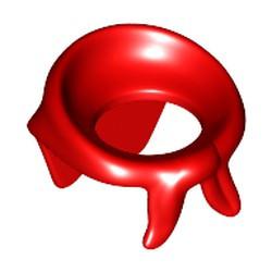 Red Minifigure, Bandana / Scarf - new