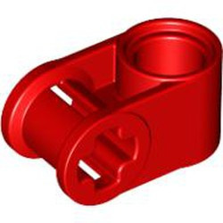 Red Technic, Axle and Pin Connector Perpendicular - new