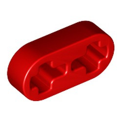 Red Technic, Liftarm 1 x 2 Thin - used