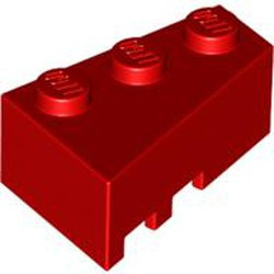 Red Wedge 3 x 2 Right - used