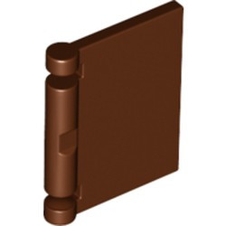 Reddish Brown Minifigure, Utensil Book Cover - new