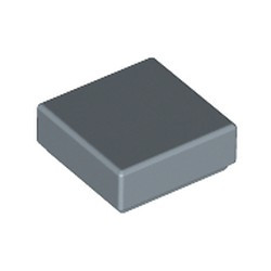 Sand Blue Tile 1 x 1 with Groove