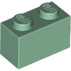 Sand Green Brick 1 x 2