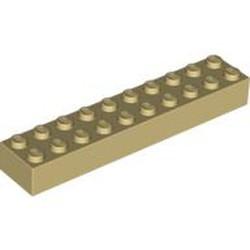 Tan Brick 2 x 10 - new