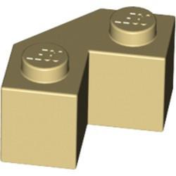 Tan Brick, Modified Facet 2 x 2 - new