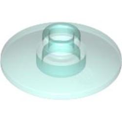 Trans-Light Blue Dish 2 x 2 Inverted (Radar)