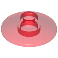 Trans-Red Dish 2 x 2 Inverted (Radar) - used