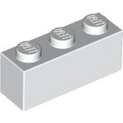 White Brick 1 x 3 - new