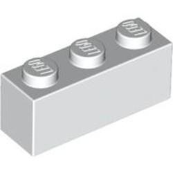 White Brick 1 x 3
