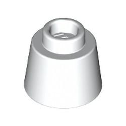 White Cone 1 1/6 x 1 1/6 x 2/3 (Fez) - new