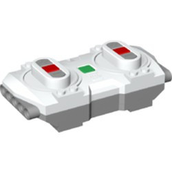 White Electric, Powered Up Bluetooth Speed Remote Control Unit with Light Bluish Gray Base - new