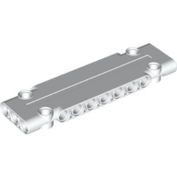 White Technic, Panel Plate 3 x 11 x 1