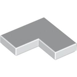 White Tile 2 x 2 Corner