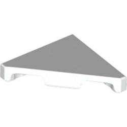 White Tile, Modified 2 x 2 Triangular - new