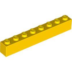 Yellow Brick 1 x 8