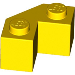 Yellow Brick, Modified Facet 2 x 2 - used