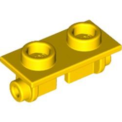 Yellow Hinge Brick 1 x 2 Top Plate
