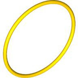 Yellow Rubber Belt Extra Large (Round Cross Section) - new - Approx. 5 x 5