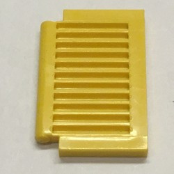 Yellow Shutter for Window 1 x 2 x 2 - used