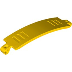 Yellow Technic, Panel Curved 3 x 13 - new