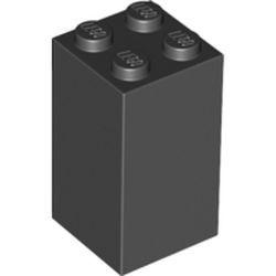 Black Brick 2 x 2 x 3