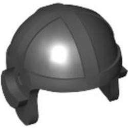 Black Minifigure, Headgear Cap, Aviator - used