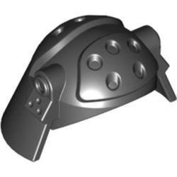 Black Minifigure, Headgear Helmet SW Death Star Trooper