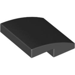 Black Slope, Curved 2 x 2 - new