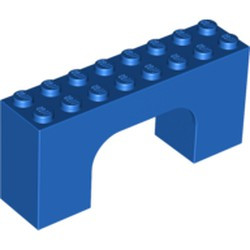 Blue Brick, Arch 2 x 8 x 3 - used