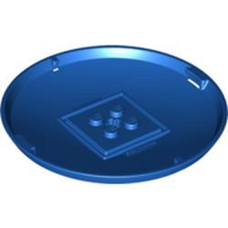 Blue Container, X-Pod Bottom Cap 9 x 9 x 1