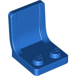 Blue Minifigure, Utensil Seat (Chair) 2 x 2 with Center Sprue Mark - new