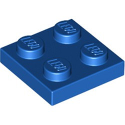 Blue Plate 2 x 2 - new