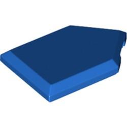 Blue Tile, Modified 2 x 3 Pentagonal - new