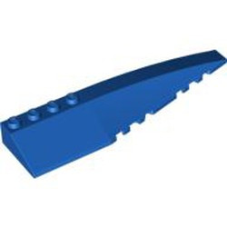 Blue Wedge 12 x 3 Right
