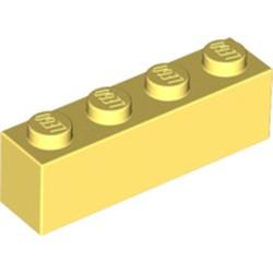Bright Light Yellow Brick 1 x 4
