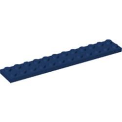 Dark Blue Plate 2 x 12 - new