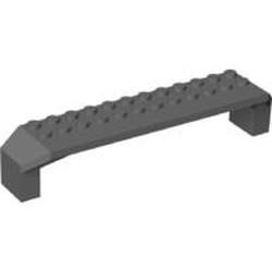 Dark Bluish Gray Brick, Arch 2 x 14 x 2 1/3 - used