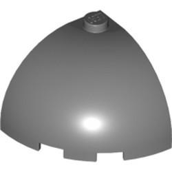 Dark Bluish Gray Brick, Round Corner 3 x 3 x 2 Dome Top
