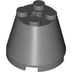 Dark Bluish Gray Cone 3 x 3 x 2 - new