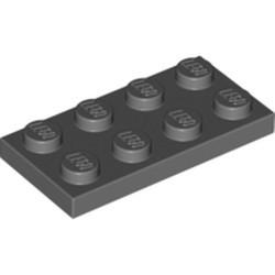 Dark Bluish Gray Plate 2 x 4